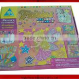 toy/Puppy sticky mosaics/JCW0002/kids DIY craft kit/develop kids wisdom/fun/EVA/popular gifts