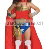 Deluxe Girls Wonder Woman Costume fancy dreee CC365