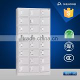 24 door metal shoe locker cabinet