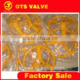 VP-LY-005cast iron butterfly valve wheel