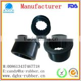 Dongguan factory customed diamond rubber covered pulley