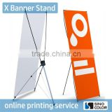 Top Quality Digital Printing mini x banner stand