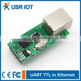 USR-TCP232-T Serial to LAN Converter UART TTL to Ethernet/TCPIP Module Support AUTO MDI/MDIX
