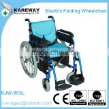 Lightweight electric folding power battery operated wheelchair                                                                         Quality Choice