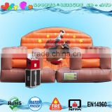 2016 hot sale inflatable bull mat, mechanical bull mattress ,inflatable bull arena                                                                                                         Supplier's Choice
