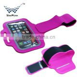 2015 New Arrival Factory Wholesale High Quality Lycra Sports Running Jogging Gym Armband Case for iPhone 6                                                                         Quality Choice
