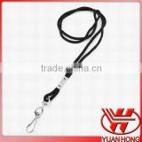 Hot selling!!! Promotional cheap polyester tubular blank neck lanyard with customized logo