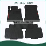 All Weather Extreme Heavy Duty Rubber Floor Mats Front & Rear Liner in Black For BENZ W210