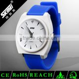 Factory Direct Supply SKMEI 0932 Silicone Jelly Watch Stainless Steel Back Water Resistant