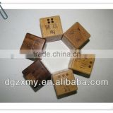 Round Corner 18mm Blank Wooden Dice