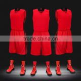 custom reversible basketball jerseys with numbers 100% polyester custom basketball singlets basketball vest