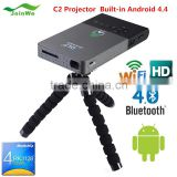 Home Theater Portable Android Mini Projector with TV Receiver Function mini hd projector