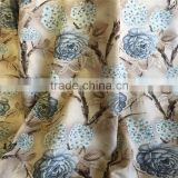 furniture upholstery fabrics printed velvet on burnout design                                                                         Quality Choice