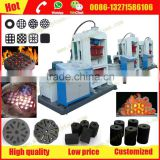 Automatic and hydraulic Paraffin fire starter wood sawdust briquette press machine