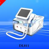 Newest 810mm wavelength portable four model dental diode laser vacuum hair removal and Skin Rejuvenation with CE