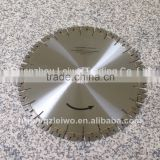 Diamond Saw Blade for Granite 14 inch (350 mm) with M Shape Segment High Frequency Cutting Disc for Granite Segment Height 20 mm