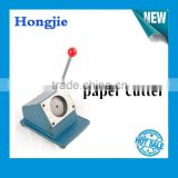 badge paper cutter press machine