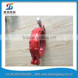 Manufacturer concrete pump pipe lever pipe clamp