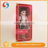 High quality big eyes black hair chinese girl plastic cheap baby dolls