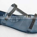 2016 Best Selling Plastic Woman Sandal,Plastic Jelly Shoes & PVC Jelly Ladies Shoes