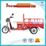 Large electric cargo delivery tricycle bike