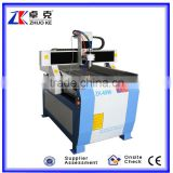 High precision cnc machine for engraving metal 6090 with water sooling system