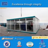 Luxury Modular Container House Multi-function Flat Pack shipping house container price CAS&AS 2 storey container