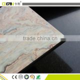 High Glossy UV Painting fibre cement board Marble Design Internal wall