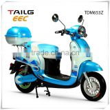 dongguan tailg eec 800w electric scooter cheap electric motorcycle with pedals for sales TDM653Z