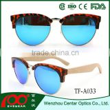 Hot sale top quality best price colorful promotion sunglasses , wood polarized sunglasses , Bamboo sunglasses