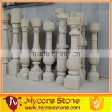 white stone handrail,marble balustrade on sale