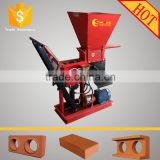 ECO BRAVA interlocking clay brick machine equipment/manual interlocking clay soil block machine