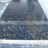 Blue Shade Semi Precious Tiger Eye Stone Slabs