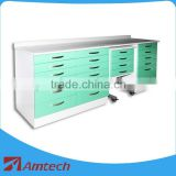2016 movable good look laboratory medical AM-13 dental clinic hospital cabinet furniture