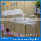 SM1-1105 Clear disposable plastic sushi plate for take away food