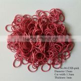 Cheap bulk wholesale hair rubber bands with multi color and various size