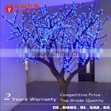 bright blue LED flower tree light artificial cherry blossom LED Firework Lights with CE UL ROHS SAA