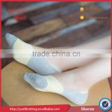 Without heel skid resistance teen girl silicon and gel sock