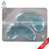 Custom collagen material gel eye mask for under-eye puffiness therapy