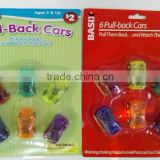 TOY CAR MADE FROM PLASTIC/PULL BACK CARS WITH DIFFERENT SIZE AND APPEARANCE/FASHIONABLE CHILDREN CAR