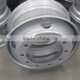 China Hot Sale Tubeless 8.25*22.5 Steel Trailer Rims