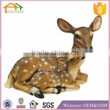 Factory Custom made best home decoration gift polyresin resin life size deer statues