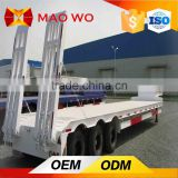 Hot sale 60 tons dimensions tri-axle semi low bed truck trailer