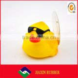 china wholesale Bath toy duck, cheap bath toy, swimming duck,rubber duck with sunglasses