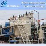 100% carbon removal high precision automatic waste oil to base oil distillation equipment