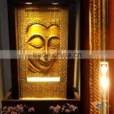Hot Sales Large Gold Resin Buddha Fountains