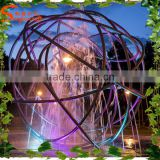 6meter diameter 12'' stainless steel waterproof ball light, underwater fountain waterfall lamp