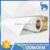 high quality large format sticky sublimation heat transfer paper roll for sportswear