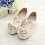 Wholesales Sparkling Children Girls Party Shoes With Bow Knot