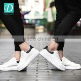 Newest Classic White Casual Shoes Footwear Men Breathable Walking Shoes